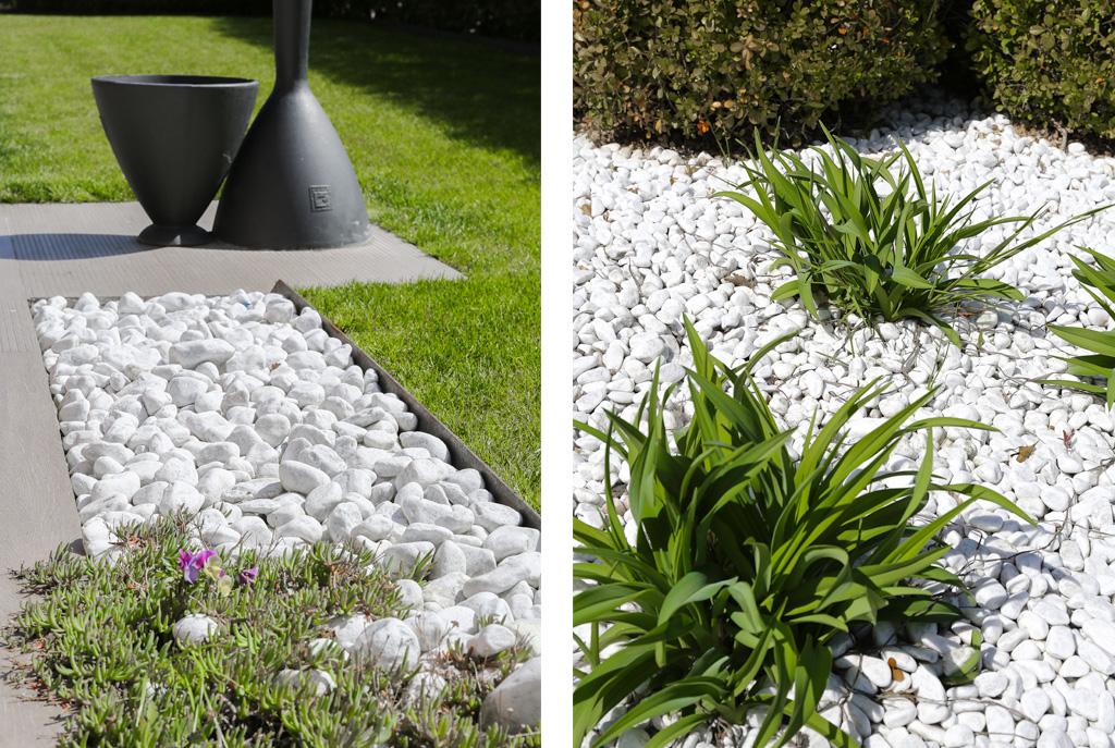 Pollice bianco nel tuo giardino for Ciottoli bianchi da giardino prezzi