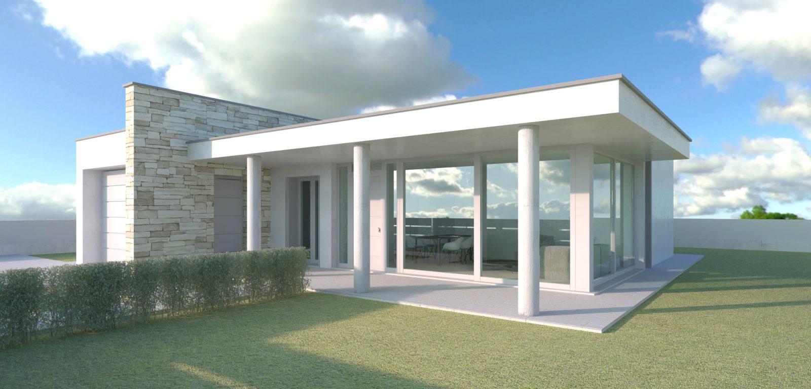 Doser parma real estate e architettura for Progetto ville moderne nuova costruzione