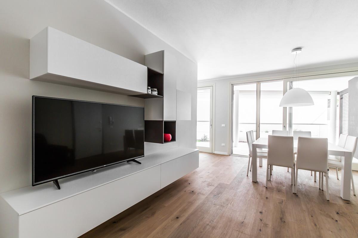 Interior design total white la scelta che non passa mai for Casa moderna total white