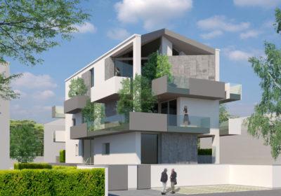 Ampie logge e terrazzi archivi doser for Palazzine moderne